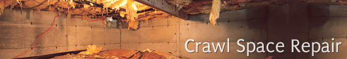 Crawl Space Repair in SK and MB, including Estevan, Yorkton & Regina.