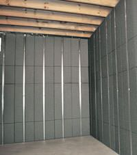 Thermal insulation panels for basement finishing in Yorkton, Saskatchewan and Manitoba